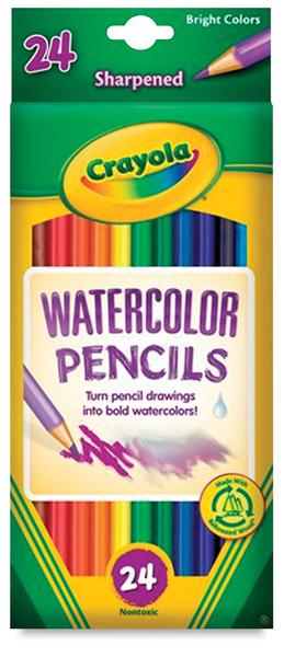 Watercolor Pencils, Set of 24