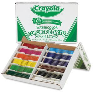 Watercolor Pencils, Classpack of 240