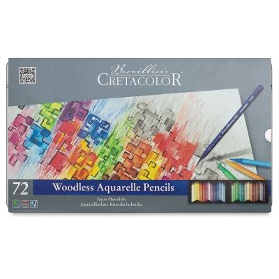 Watercolor Pencils, Set of 72
