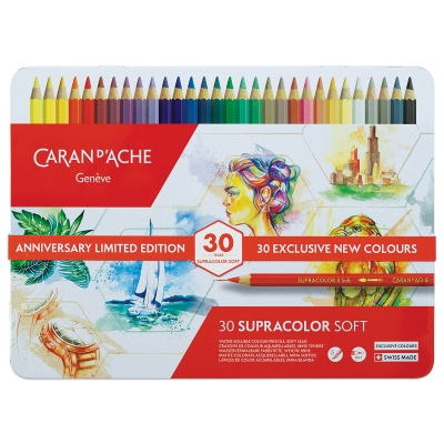 Aquarelle Pencils, 30th Anniversary, Set of 30