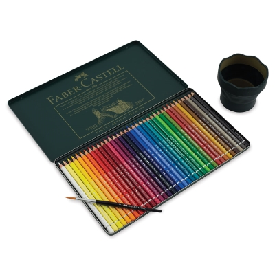Limited EditionGift Set of 36 Colors, Brush, and Water Pot