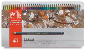 Pablo Colored Pencils, Set of 40