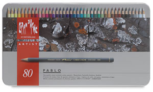 Pablo Colored Pencils, Set of 80