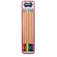 Colored Pencils, Set of 6 w/ Sharpener
