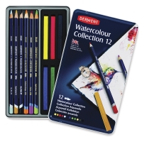 Derwent Watercolor Pencil Collection Tin Sets