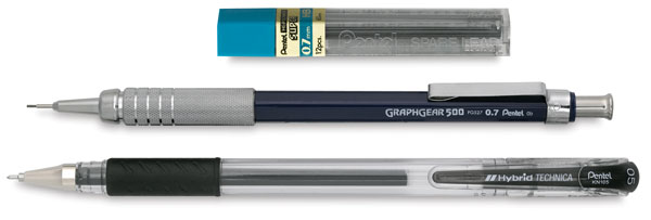 Drawing Pack Bonus Set<br>0.5 mm Pen and 0.7 mm Pencil