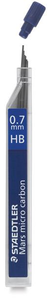 0.7 mm, HB Lead Refills, Pkg of 12