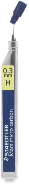 0.3 mm, H Lead Refills, Pkg of 12
