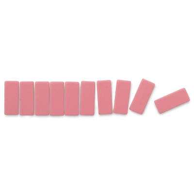 Pencil Replacement Erasers, Box of 10