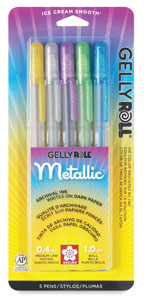 Metallic Colors, Set of 5