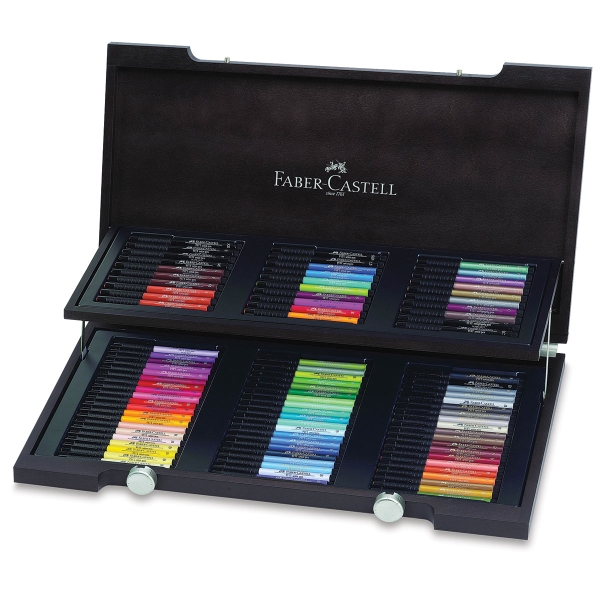 faber castell pitt artist pens and sets blick art materials. Black Bedroom Furniture Sets. Home Design Ideas