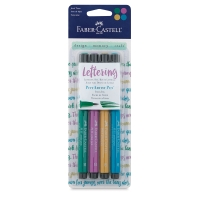 Jewel Lettering Colors, Set of 4