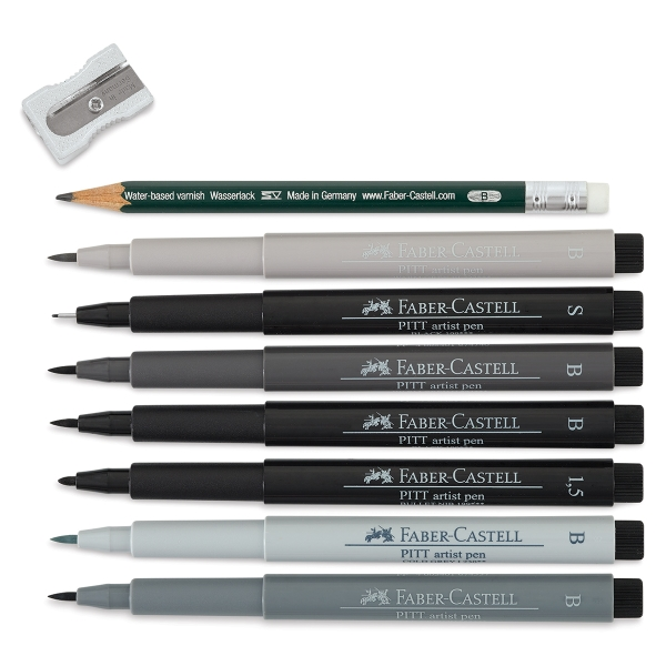 Faber Castell Pitt Artist Pens And Sets
