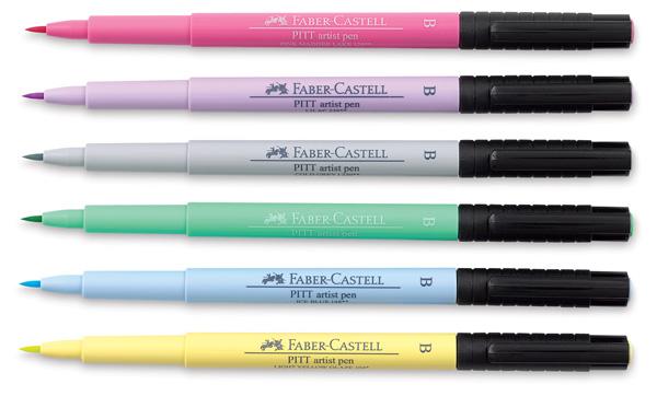 Pastel Colors, Set of 6