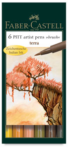 Terra Colors, Set of 6