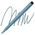 Blue Metallic, Bullet Nib