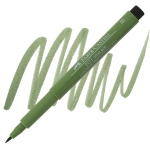 Chrome Green Opaque, Brush Nib