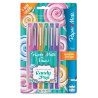 Candy Pop Colors, Medium Tip, Set of 6