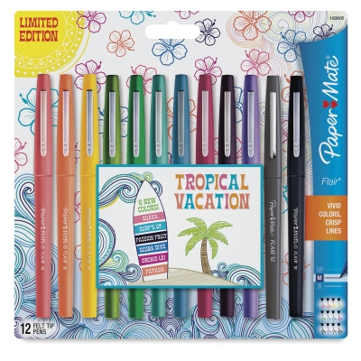 Tropical Colors, Set of 12