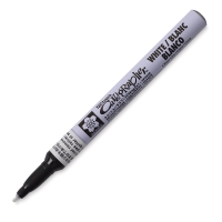 Fine Point Pen, White