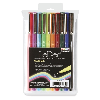Neon Colors, Set of 10