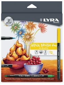 Aqua Brush Duo, Set of 12