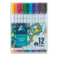 Fineline Pens, Set of 12