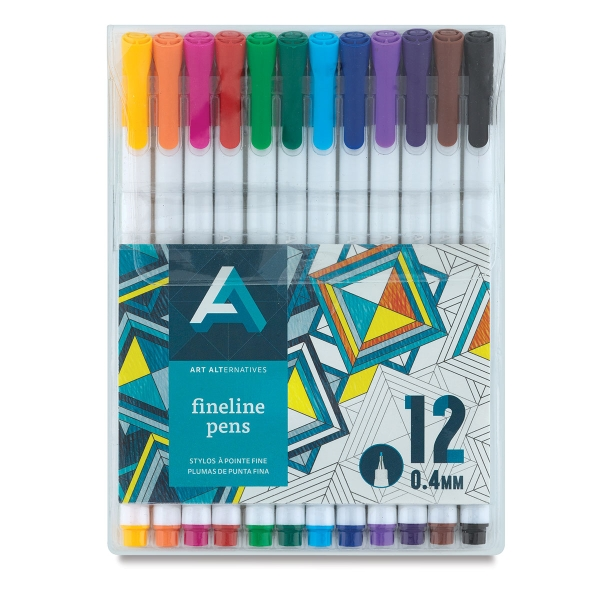 Fineline Pens, Set of 12