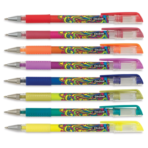 Scented Gel Pens, Set of 8