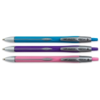 Comfort Retractable Ball Pens, Set of 3