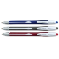 Exact Retractable Ball Pen, Set of 3