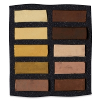 Ochre and Siennas, Set of 10