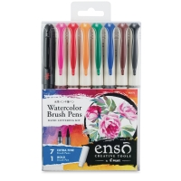 Ensō Watercolor Brush Pen Hand Lettering Kit