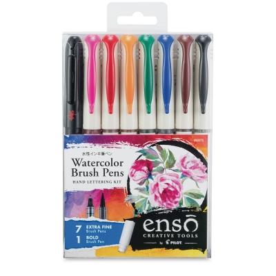 Ensō Watercolor Brush Pen Hand Lettering Kit