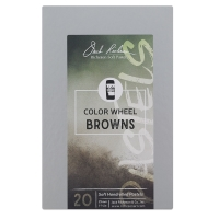 Color Wheel, Browns, Set of 20