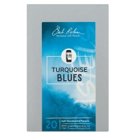 Turquoise Blues, Set of 20