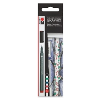Fineliner Graphix Pens, Skyline, Set of 4