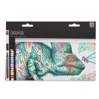 Fineliner Graphix Pens, Doodle Supreme Set of 24