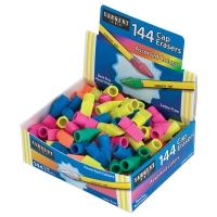 Cap Erasers, Pkg of 144