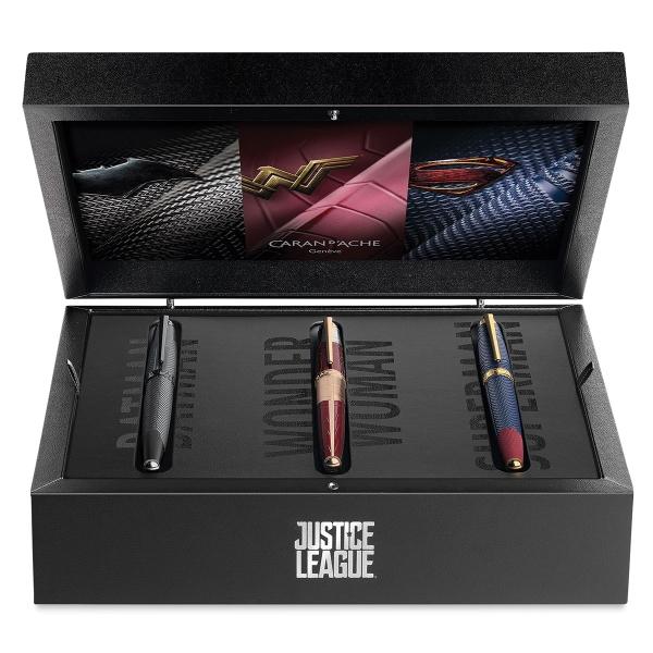 Caran D'Ache Justice League Fountain Pens