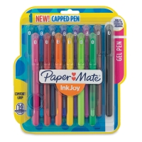 InkJoy Capped Gel Pens, Pkg of 14
