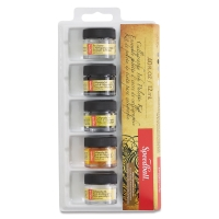 Calligraphy Inks, Set of 5 Assorted Colors
