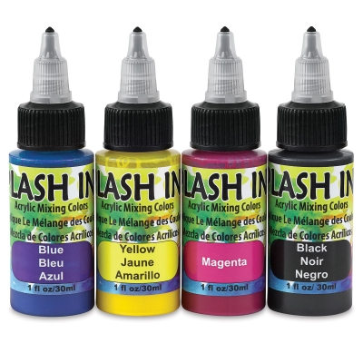 Splash Ink, Set of 4