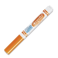 Washable Marker, Broad Tip, Orange