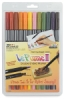 Set of 12 Markers, Garden Colors