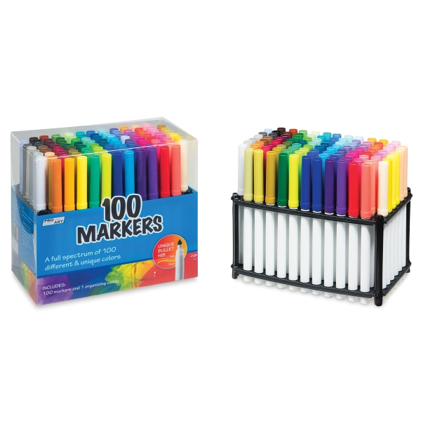 Markers, Set of 100