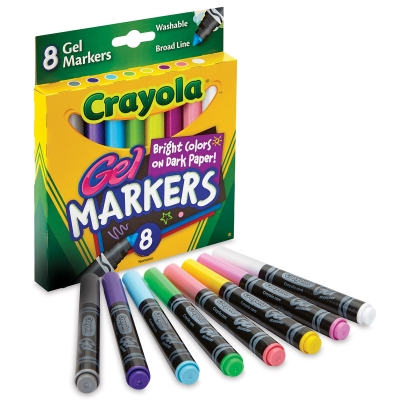 Gel Markers, Set of 8