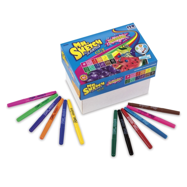Washable Markers, Classroom Pack of 120