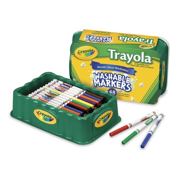 Set of 48 Fine Tip Markers