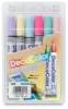Pastel Colors Set of 6, Broad Tip